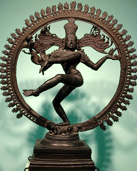 Bůh Šiva při tanci