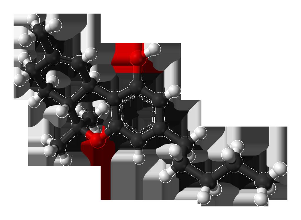 Molekula cannabinoidu