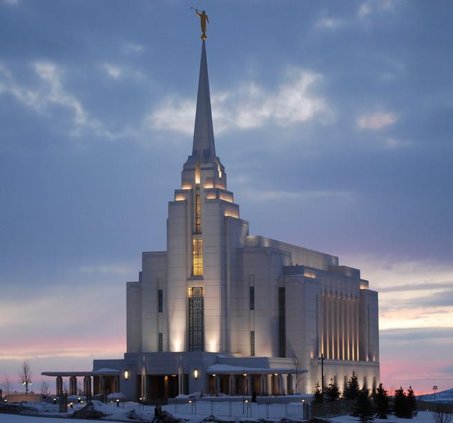 Regsburgský chrám v Idaho